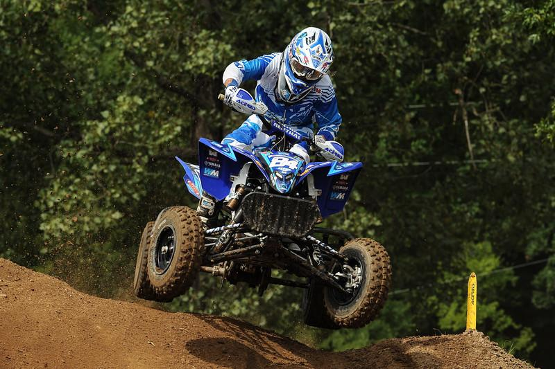 Thomas Brown took his first career overall win at Loretta Lynn's