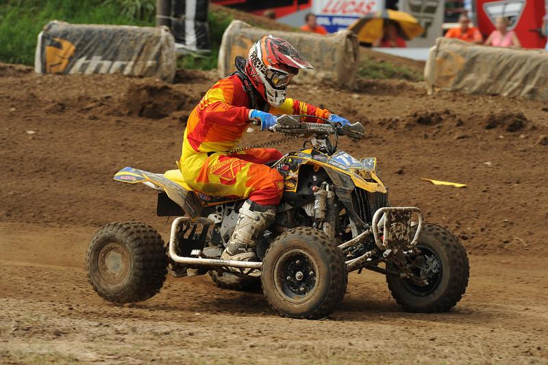 Jeffrey Rastrelli took sixth overall for the day at Loretta Lynn's.