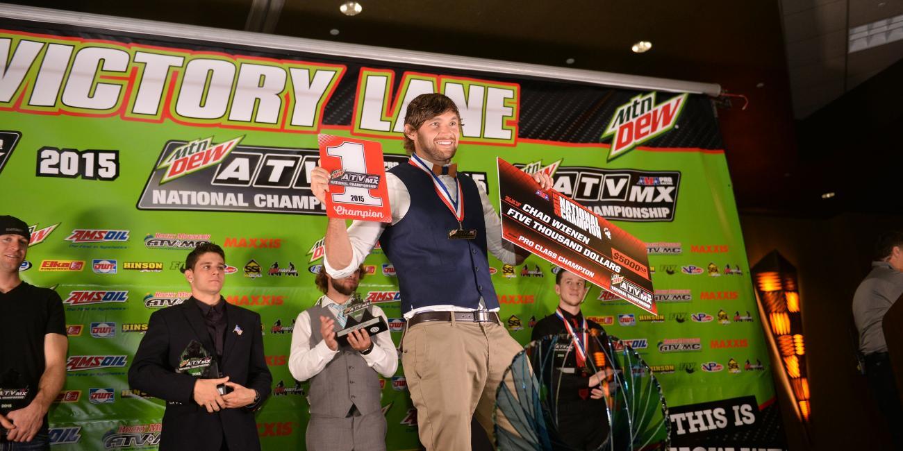 Congratulations to 2015 Mtn. Dew ATV Motocross Specialty Award Winners