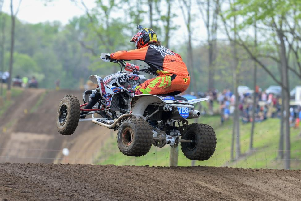 Jeffrey Rastrelli made his second podium appearance of the season taking home third overall.Photo: Ken Hill