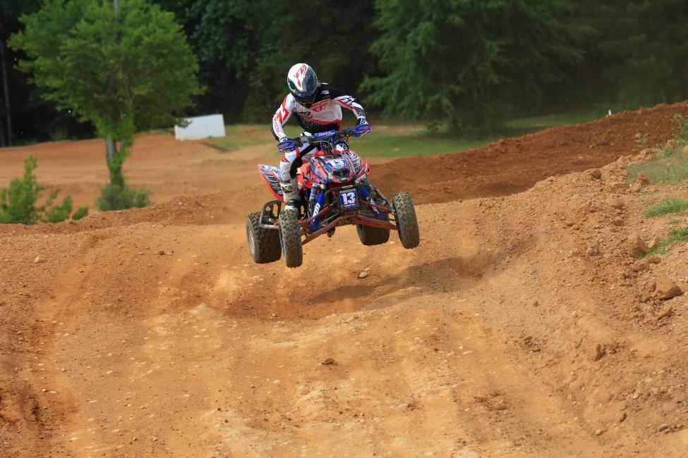 John Natalie earned the holeshot in moto two and would go 4-3 for third overall.Photo: David Smith | Raceday Pix