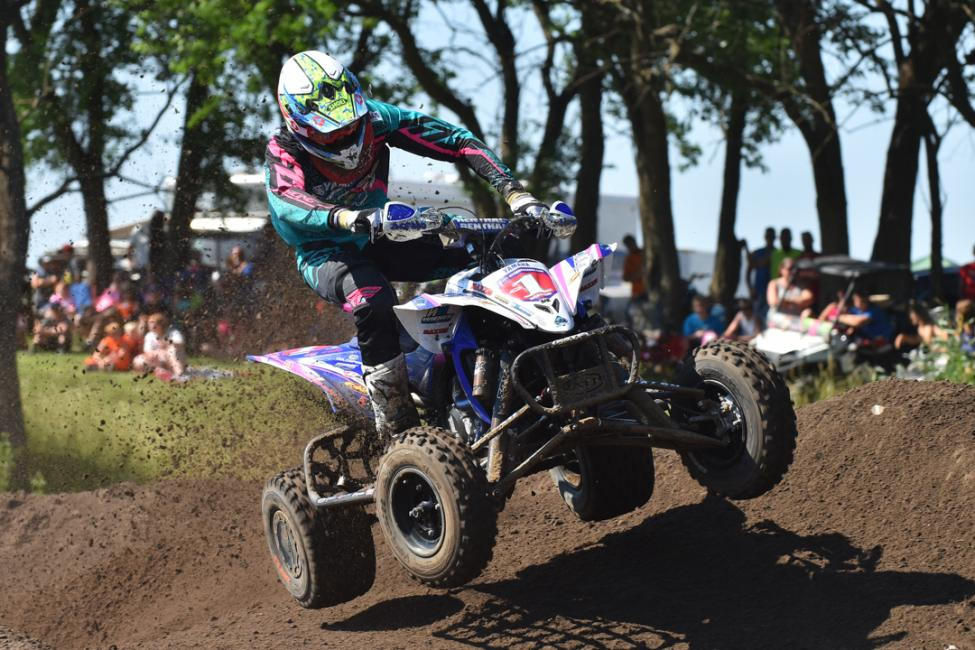 Chad Wienen started the day with the fastest qualifying time.Photo: Ken Hill