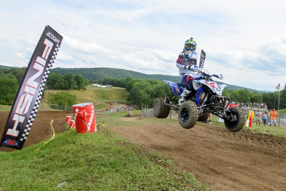Chad Wienen goes 2-1 for the Unadilla ATV National overall win.Photo: Ken Hill
