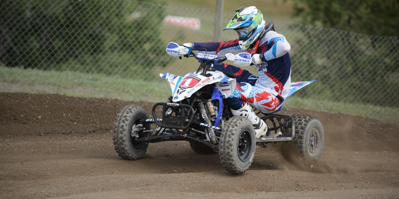 Wienen Leads the AMA Pro ATV Field into RedBud ATVMX National