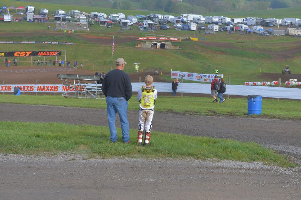 It's always nice to see families spending time together at the ATVMX races.