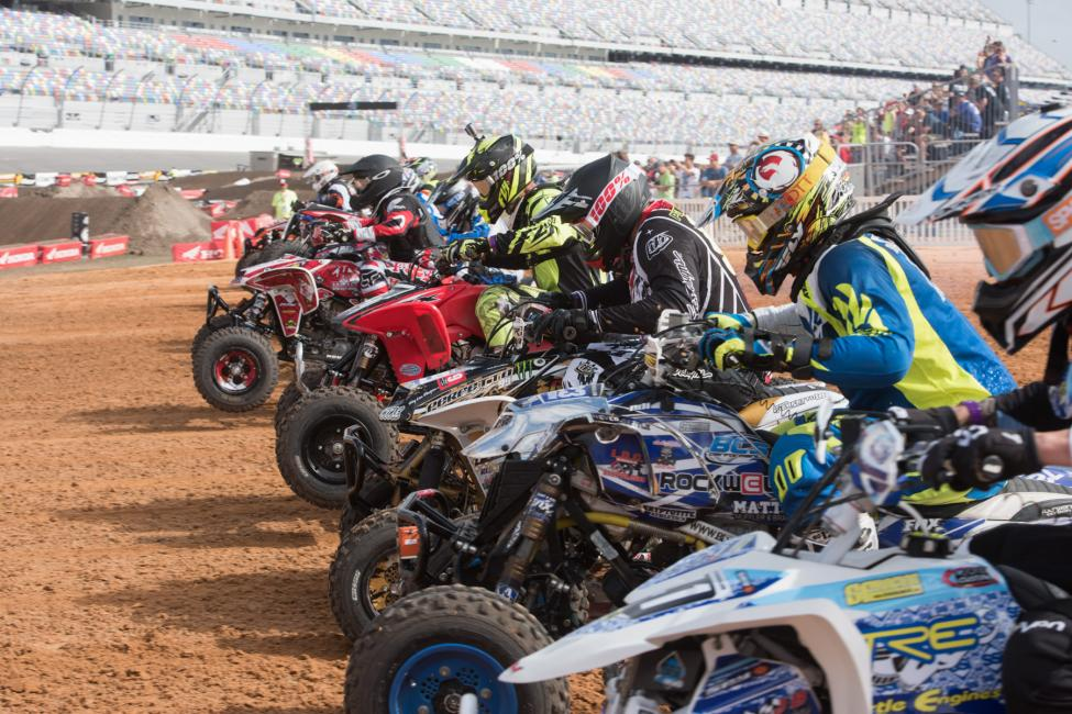 Whose ready for the ATV Supercross at Daytona International Speedway? We can't wait to see you there.
