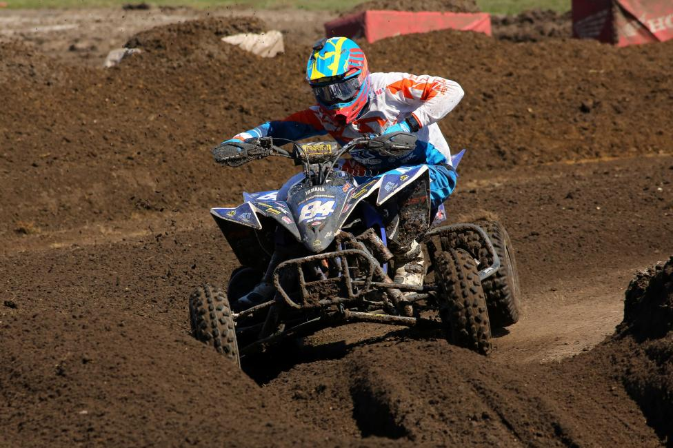 Thomas Brown finished third overall at the FLY Racing ATV Supercross.