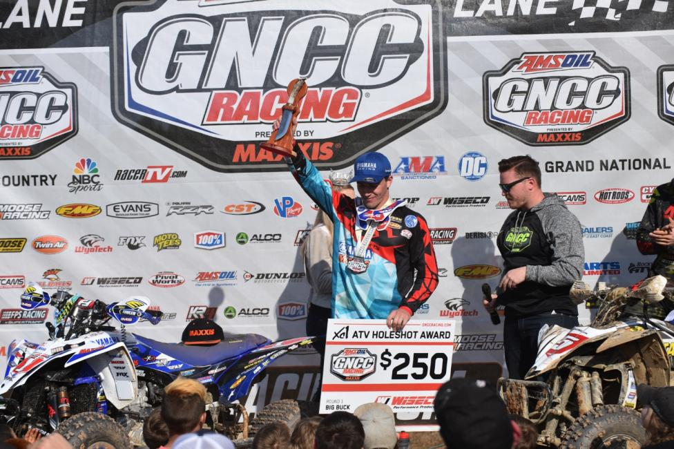 Walker Fowler backed up his second straight championship by winning the first two GNCC events.