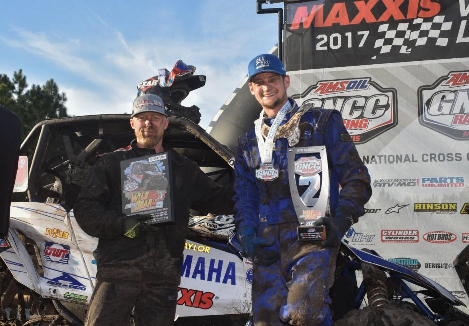 Cody Miller earned a strong second place finish at the GNCC UTV Opener.