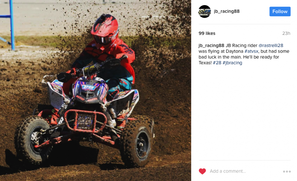 Make sure to follow JB Racing's new Instagram page!