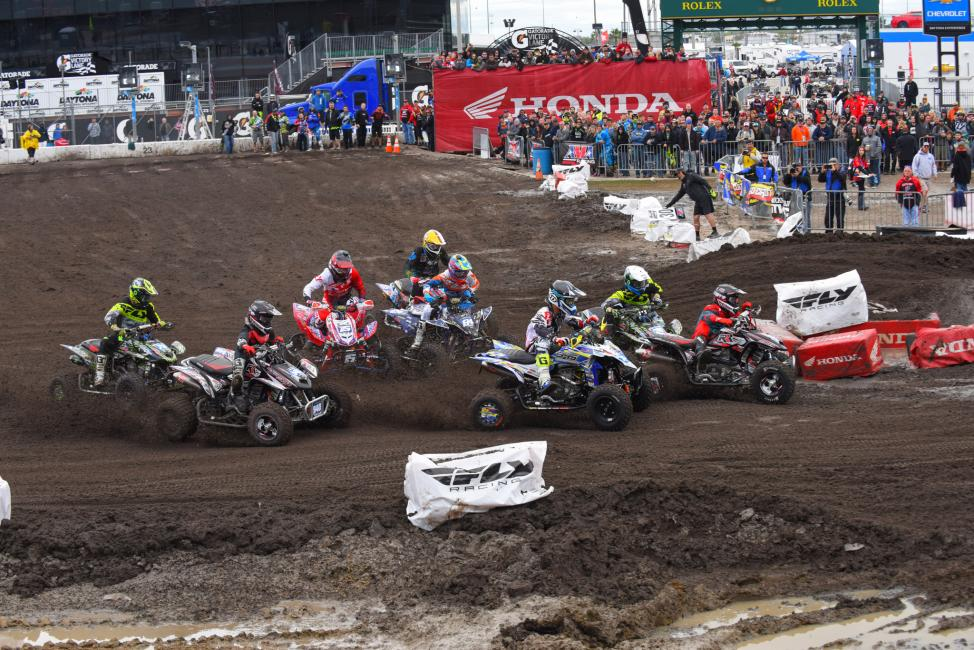 We have a feeling the AMA Pro ATV class championship will be determined at the last round...