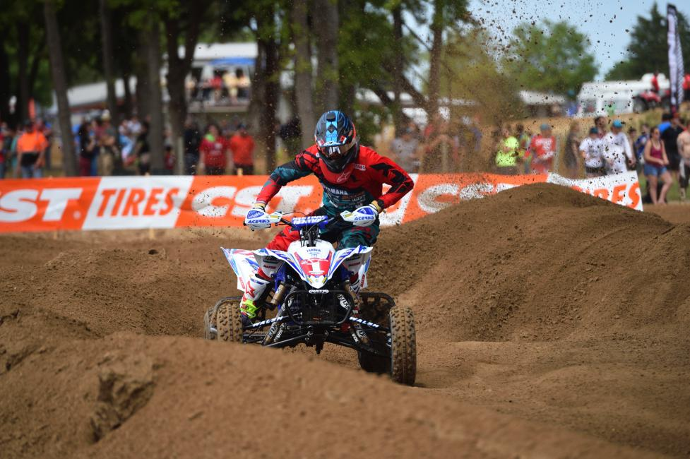 Chad Wienen took the overall win at the Texas ATVMX National.