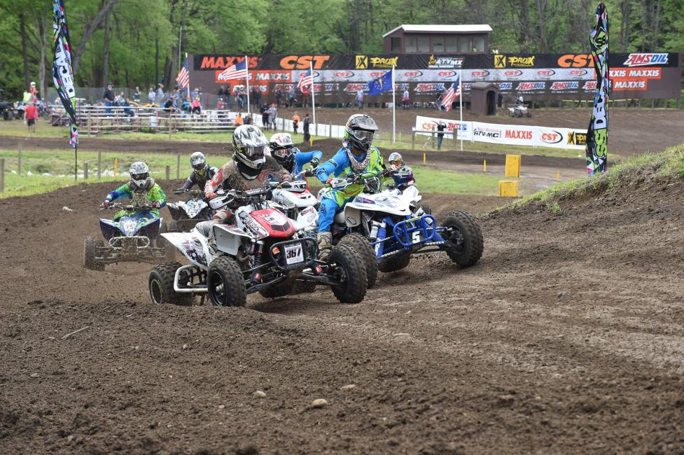 Here's to hoping for some great weather this weekend's ATVMX in Indiana.