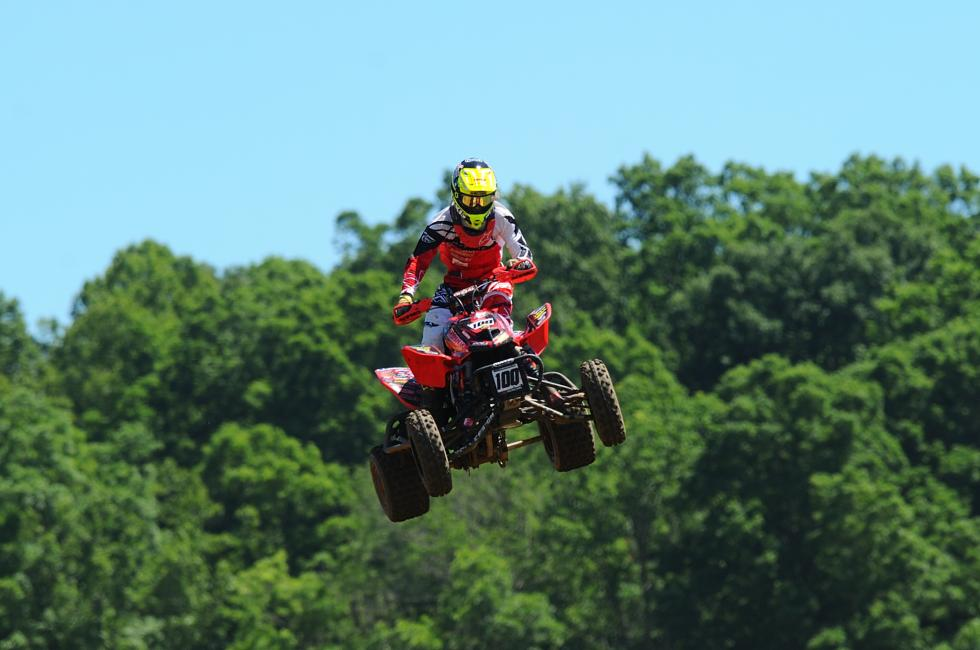 Will Noah Mickelson sweep the Pro Sport and 450 A classes again, like he did at Muddy Creek?