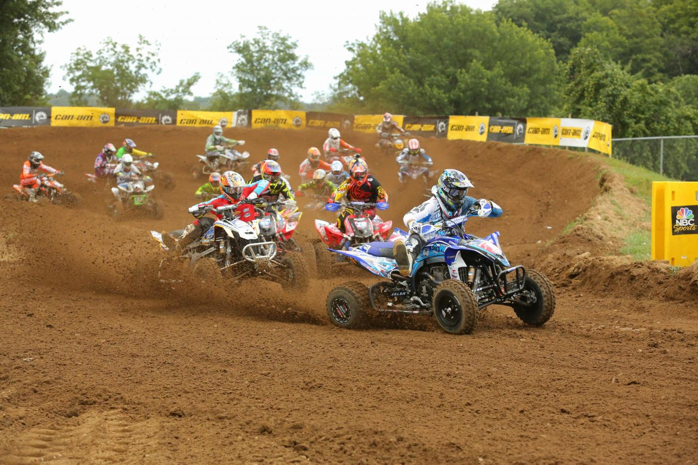 Chad Wienen swept the field at RedBud after going 1-1 for the day.