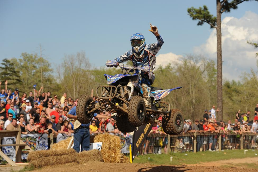 The defending AMA Pro ATV Champion, Chad Wienen, is ready to go for 2014.-Photo: Hill