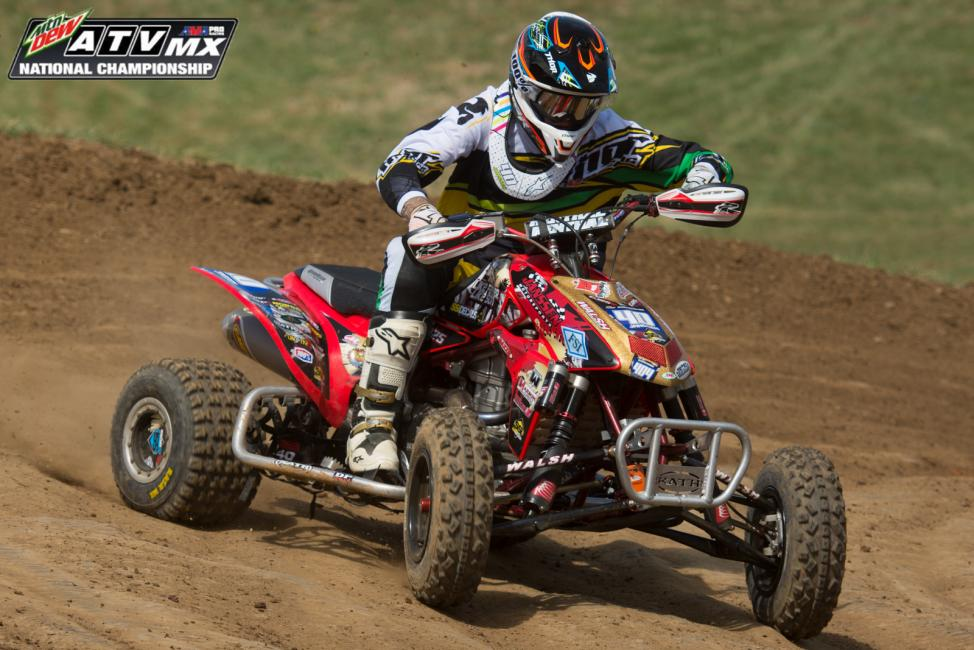 Janssen is working on preparing himself 100% before the High Point ATV race