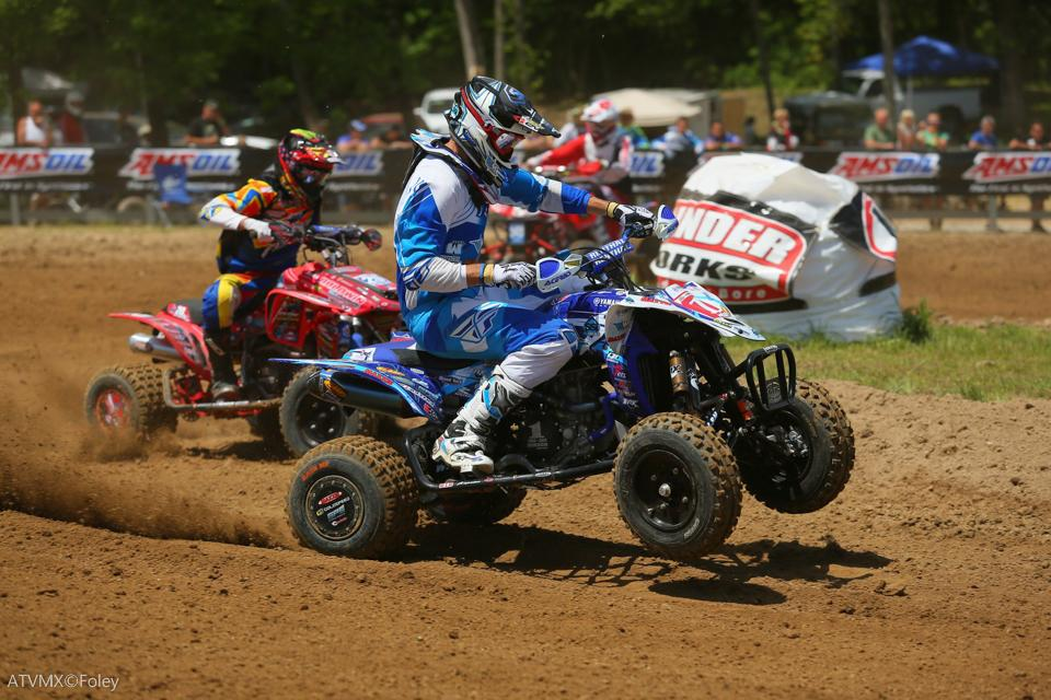 Chad Wienen went 1-1 at the Briarcliff ATVMX National