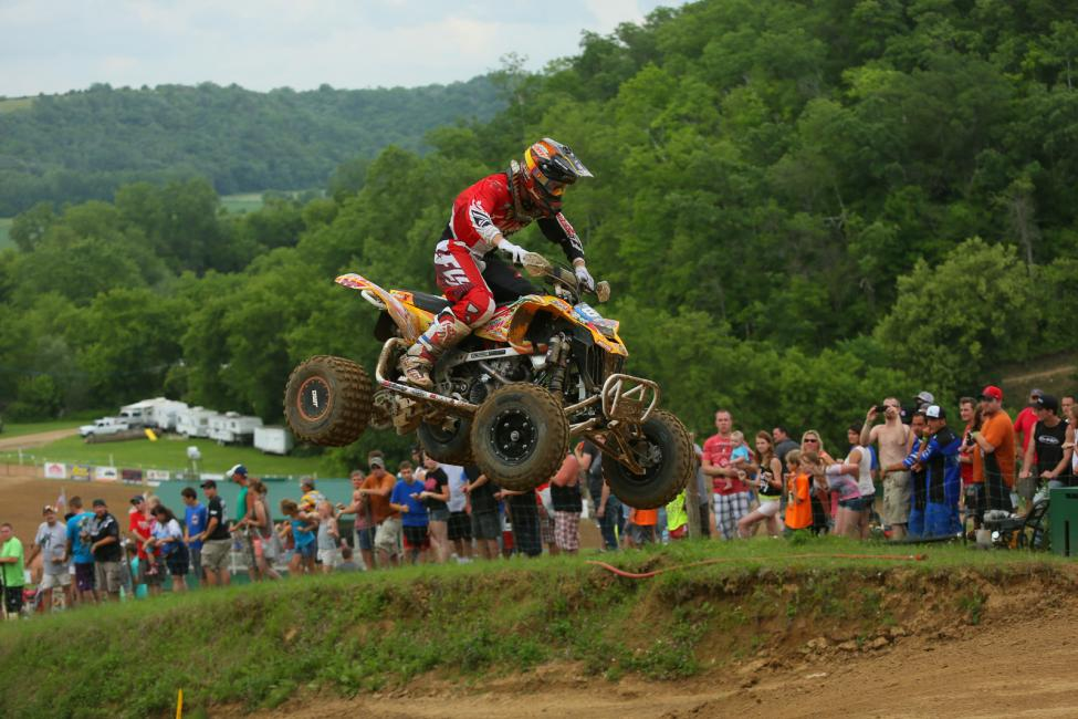 Joel Hetrick had a good day, finishing second overall