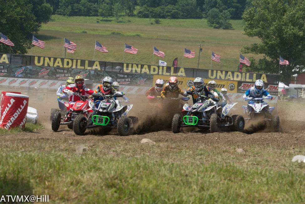 Amateur racing has some battles shaping up for the last two rounds of ATVMX