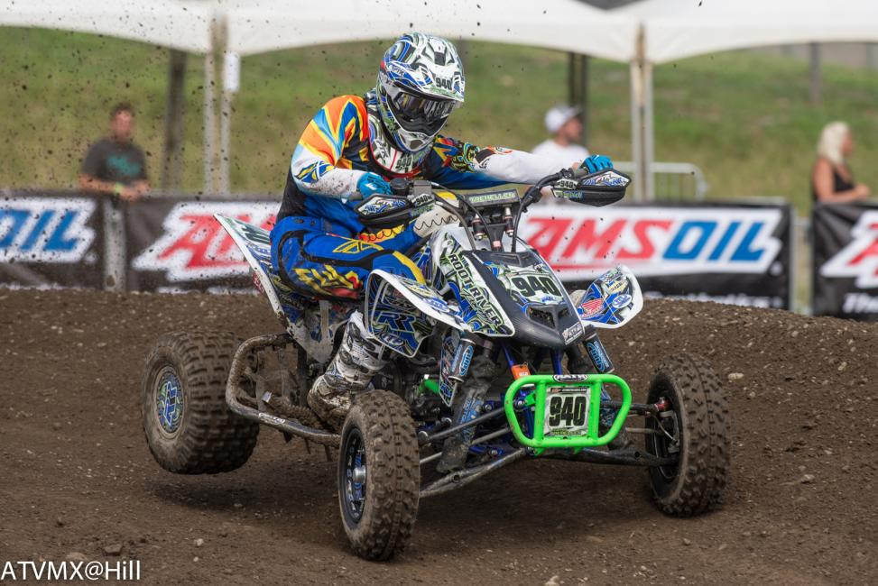 Dylan Tremellen sits 30 points behind the leader in the 450 A class Championship Standings