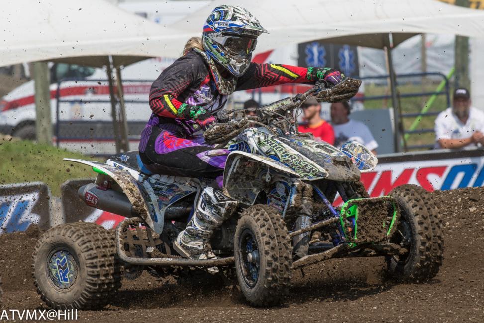 Megan Manshack has pretty much wrapped up her Women's ATV Championship. Congrats Megan!