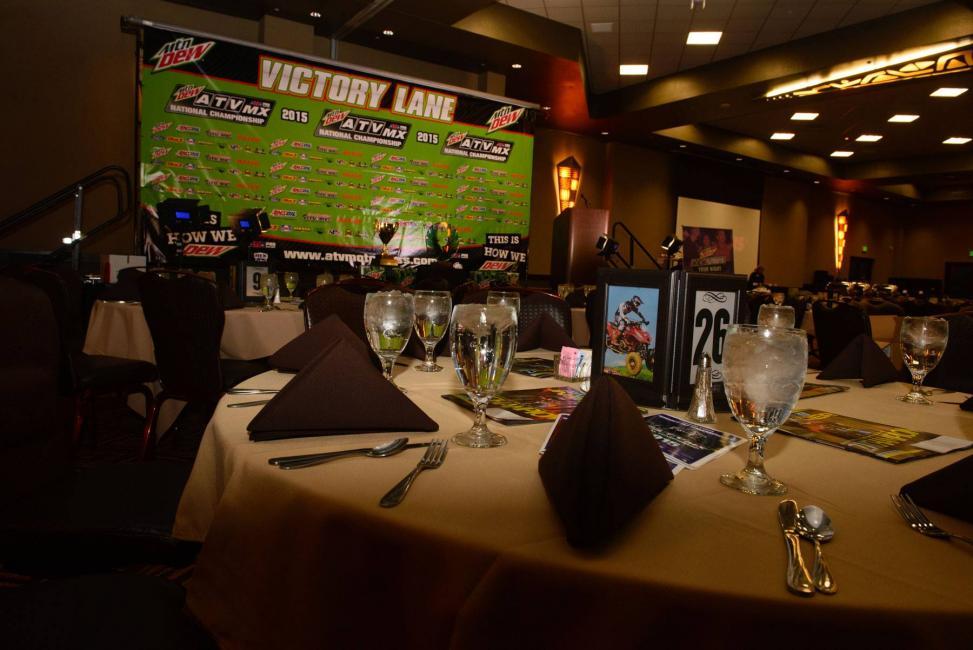 The 2015 ATVMX Awards Banquet was a success!