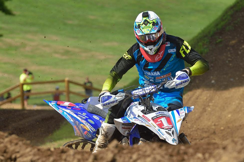 Chad Wienen holds the points lead coming into round 10 at Loretta Lynn Ranch. Photo: Ken Hill