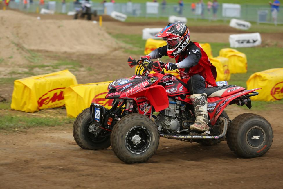 Joel Hetrick dominated the inaugural Edge of Summer MX going 1-1.Photo: Harlen Foley