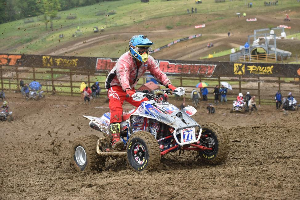 Moser announces that he will no longer be racing at the ATV Nationals. Photo: Ken Hill