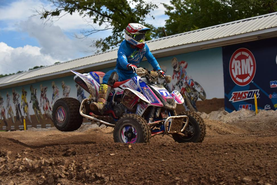 ATV Motocross wishes Nick the best of luck for his future!  Photo: Ken Hill