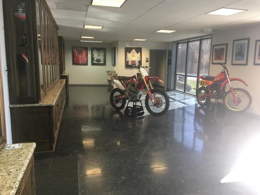Rodney stopped by the new Maxxis/Liquid Wrench/Elka/Honda compound a week ago, and tells us all about the new headquarters.