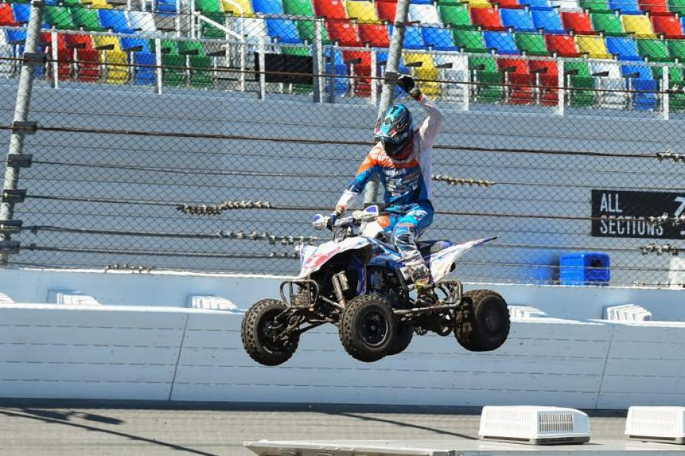 Chad Wienen took the overall win at the FLY Racing ATV Supercross at Daytona International Speedway.
