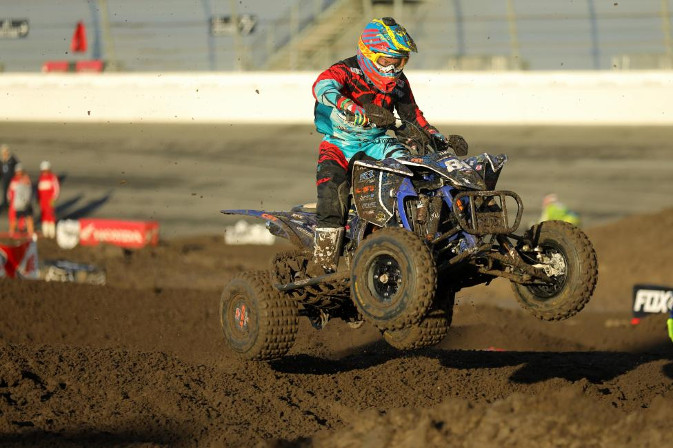 Brown will look to earn a win in his home state at round 2 of the ATVMX series on April 1-2 at Underground Racing.
