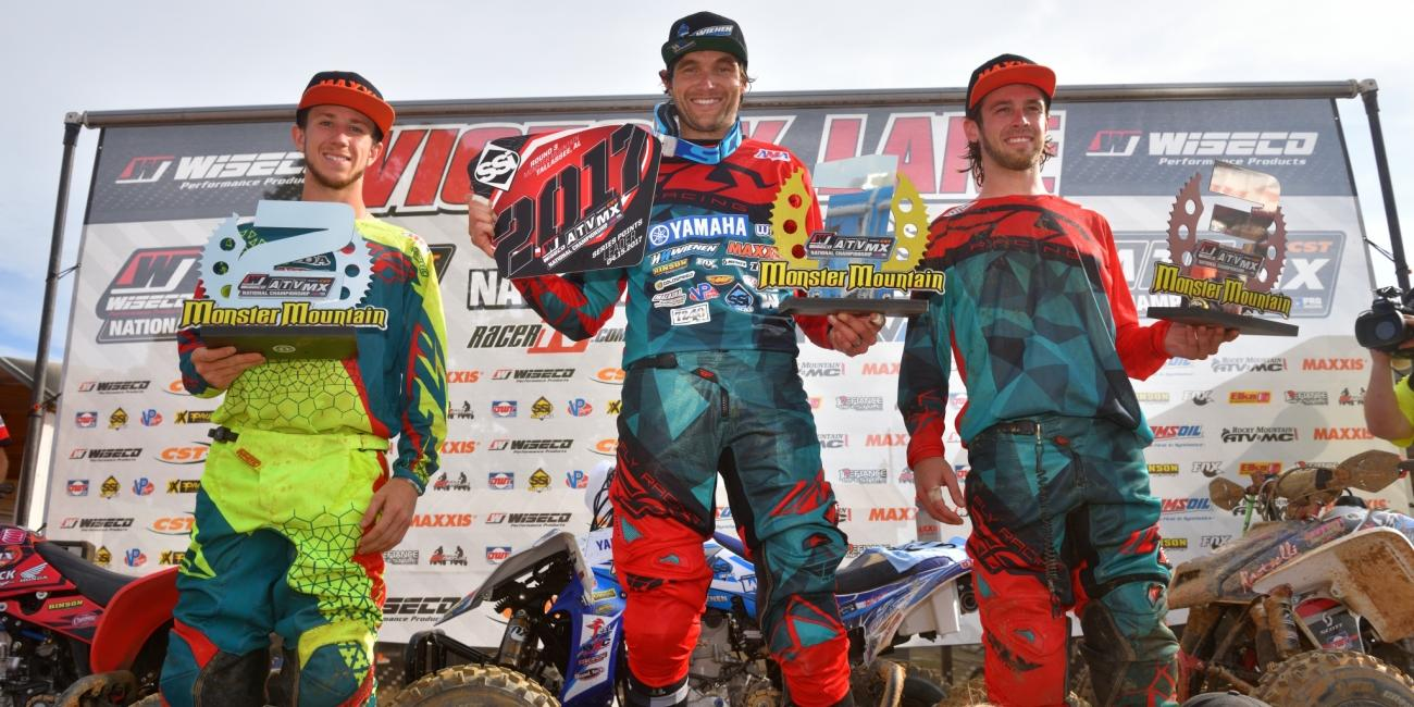 Chad Wienen Earns His Third Consecutive Win at The Monster Mountain ATVMX National