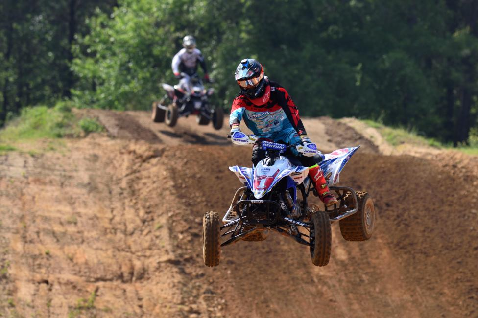 Chad Wienen made it three-in-a-row at the Monster Mountain ATVMX National.