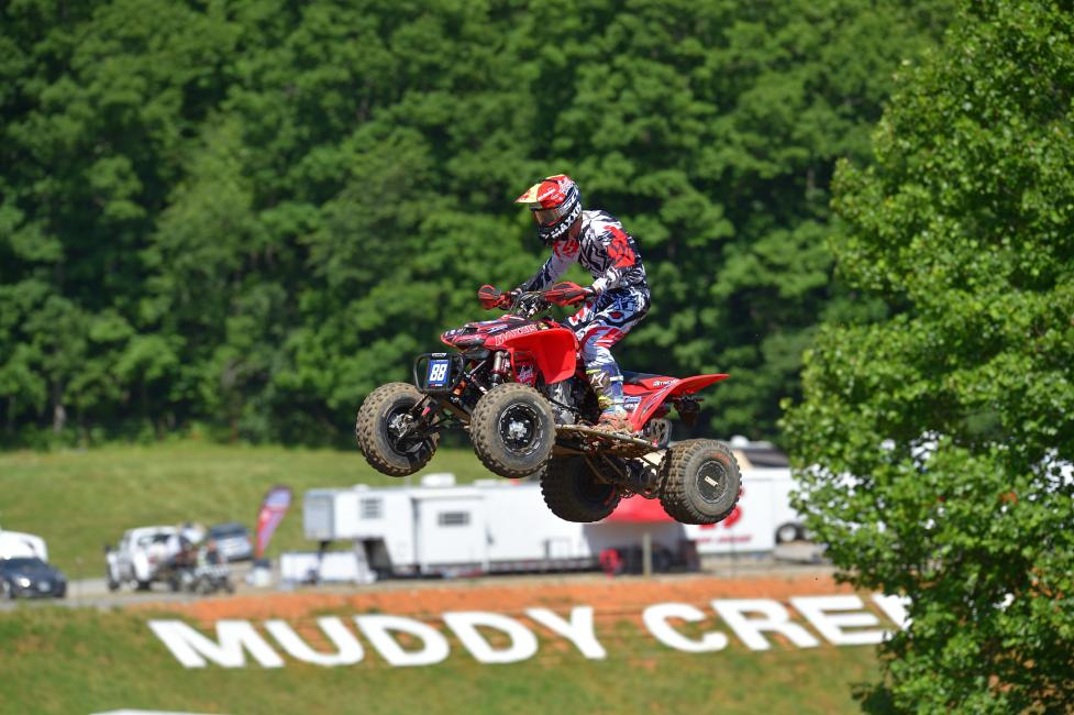 Joel Hetrick went 1-1 at Muddy Creek Raceway.
