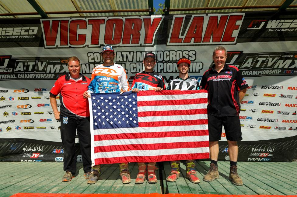 Chad Wienen, Thomas Brown and Joel Hetrick will participate in the QXoN (Quad Cross of Nations) representing the USA.