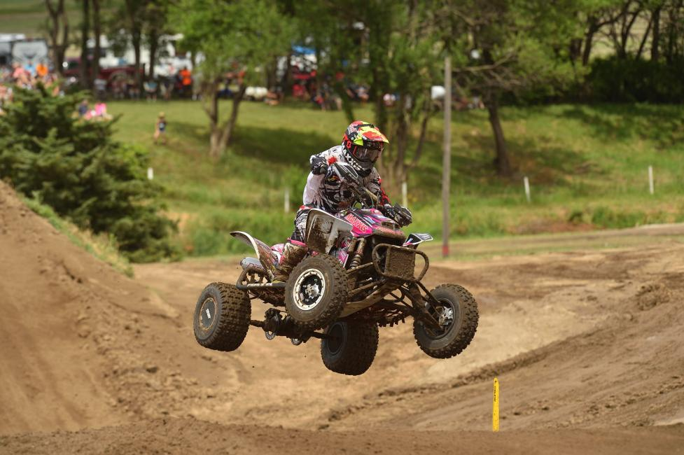 Joel Hetrick is just one point out of the lead, heading into the Unadilla ATVMX National.