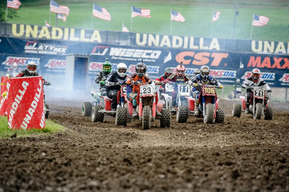 Trike racing is always a must at the Unadilla ATVMX National.