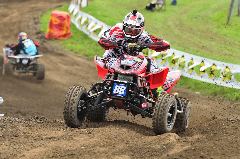 For the first time this season, Joel Hetrick will sport the red number plate at RedBud.