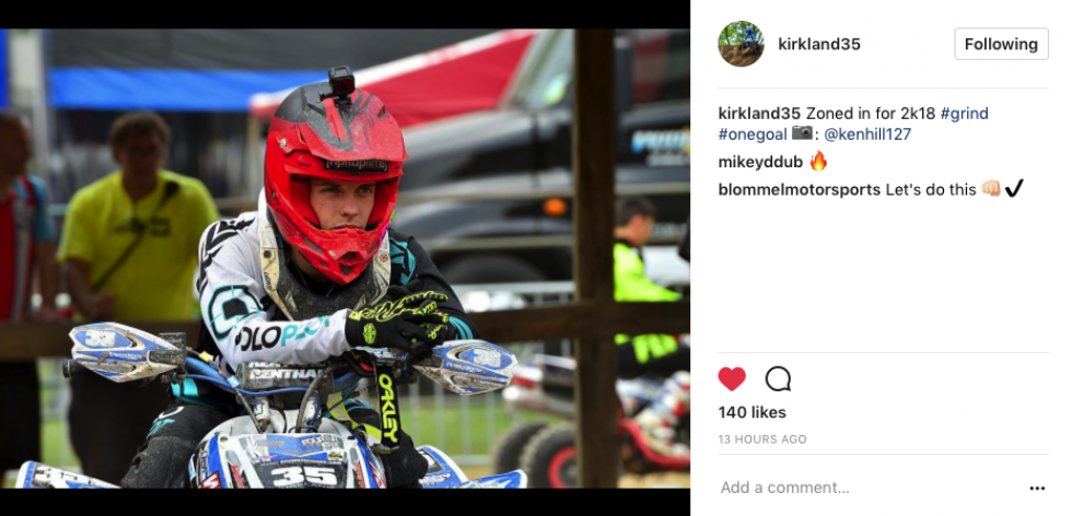 Kirkland Jack is ready for the 2018 season.