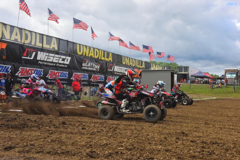 There is a lot of competition between the women of ATVMX!