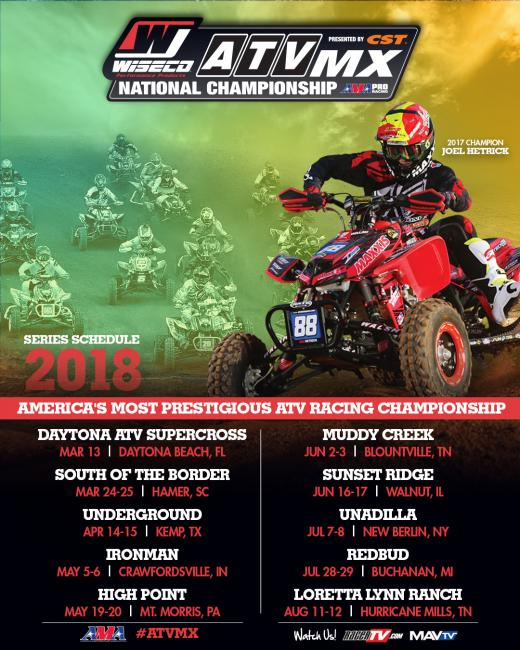 Don't forget to get registered for the Daytona ATV Supercross!