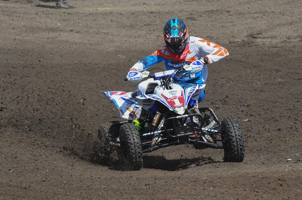 Can Chad Wienen take the win at Daytona ATVSX?