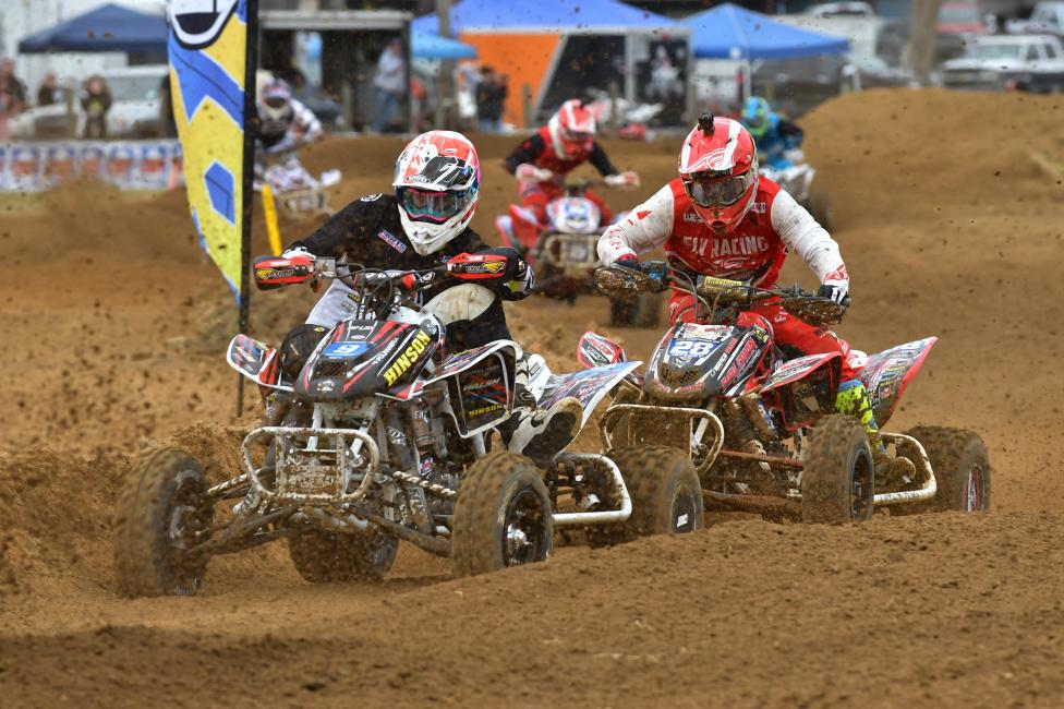 Jeffrey Rastrelli (#28) fought hard all day for a third place overall finish in South Carolina.