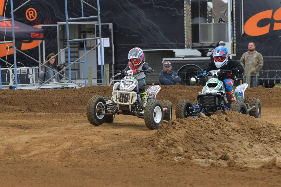 The youth classes are always fun to watch at the ATVMX Nationals.