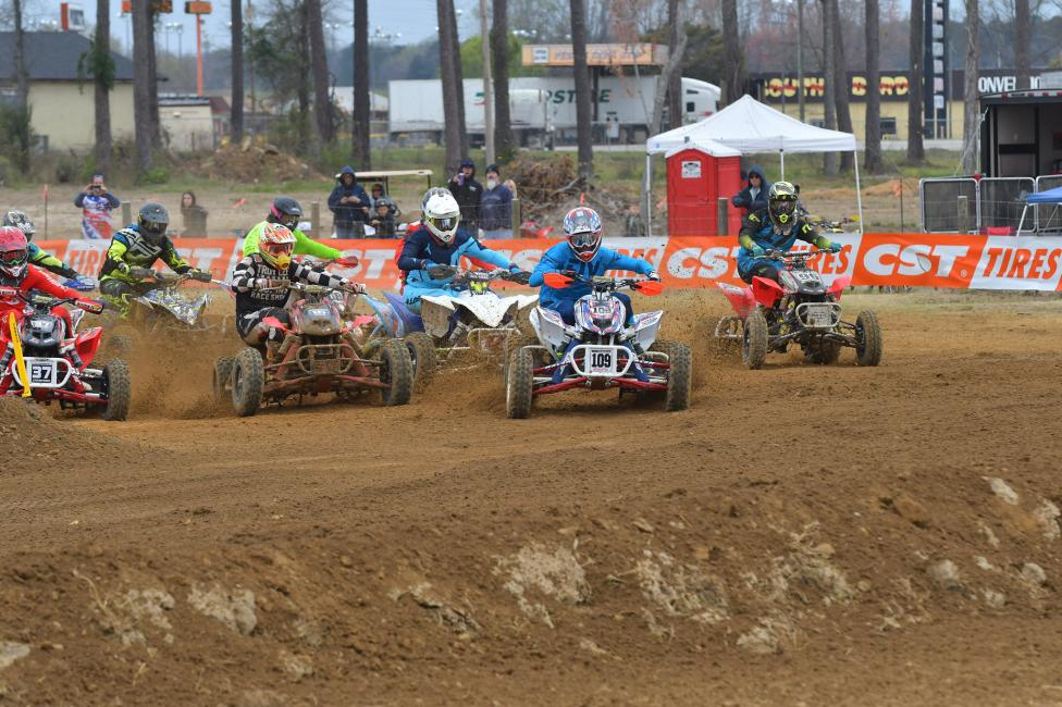 Be sure to check out the intense battles that take place all weekend long during the amateur races.