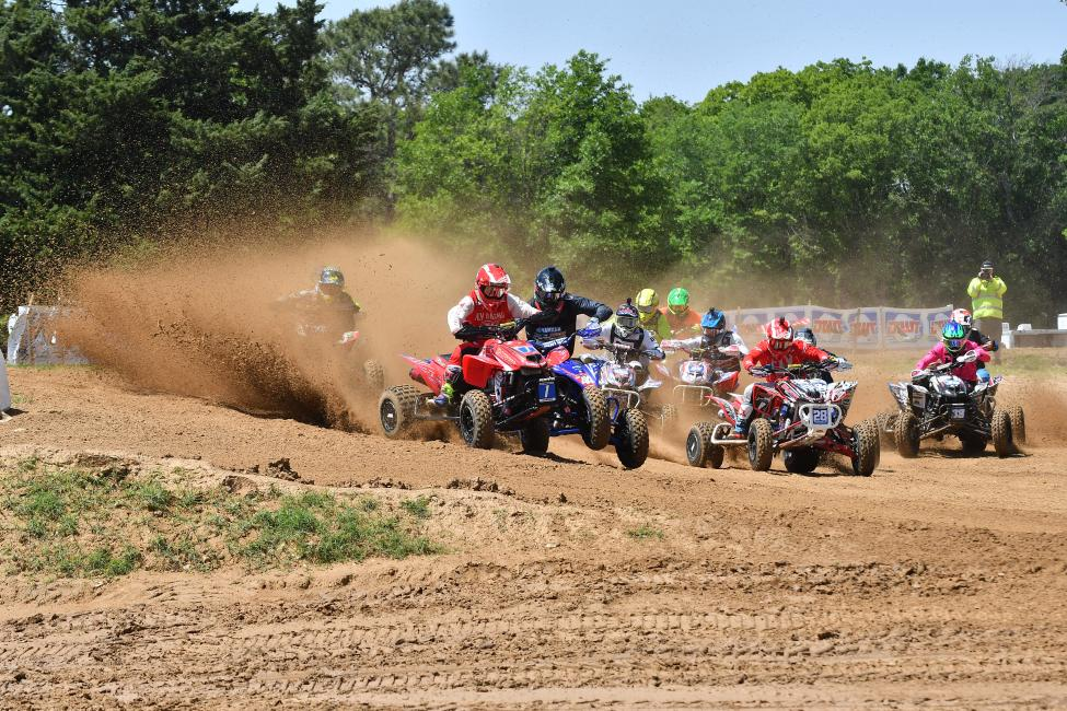 Joel Hetrick grabbed both holeshots at the Underground ATVMX National.