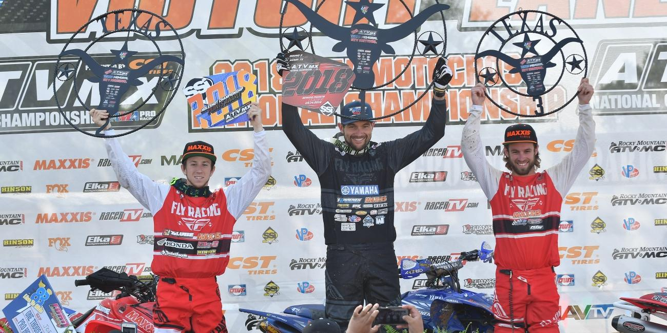 Chad Wienen Earns Second Win at Underground ATVMX National